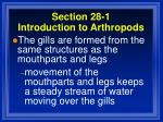 section 28 1 introduction to arthropods21