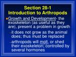 section 28 1 introduction to arthropods37