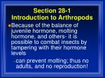 section 28 1 introduction to arthropods44