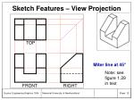 sketch features view projection