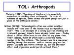 tol arthropods