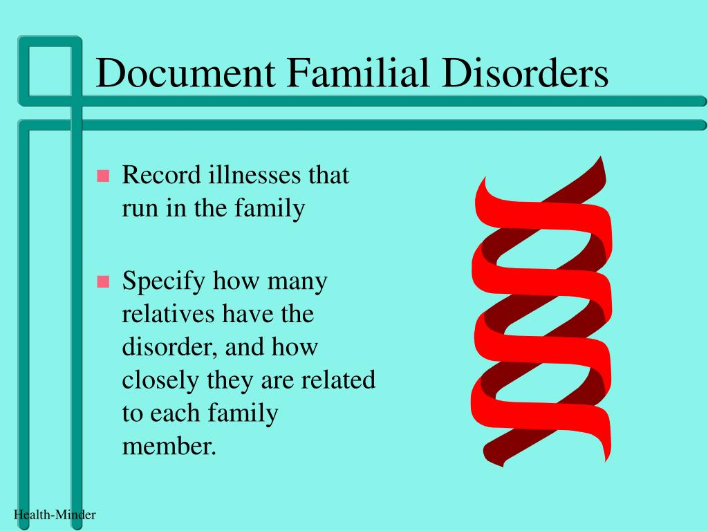 Document Familial Disorders