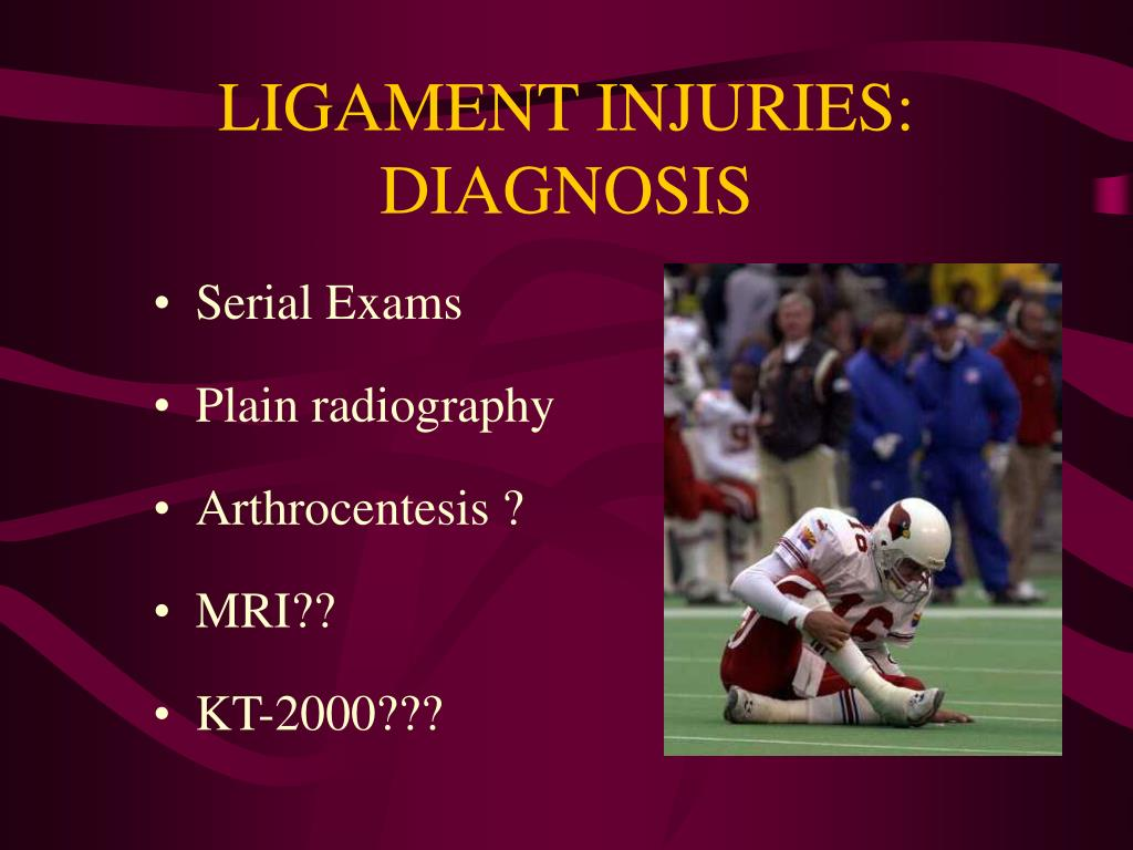 LIGAMENT INJURIES: