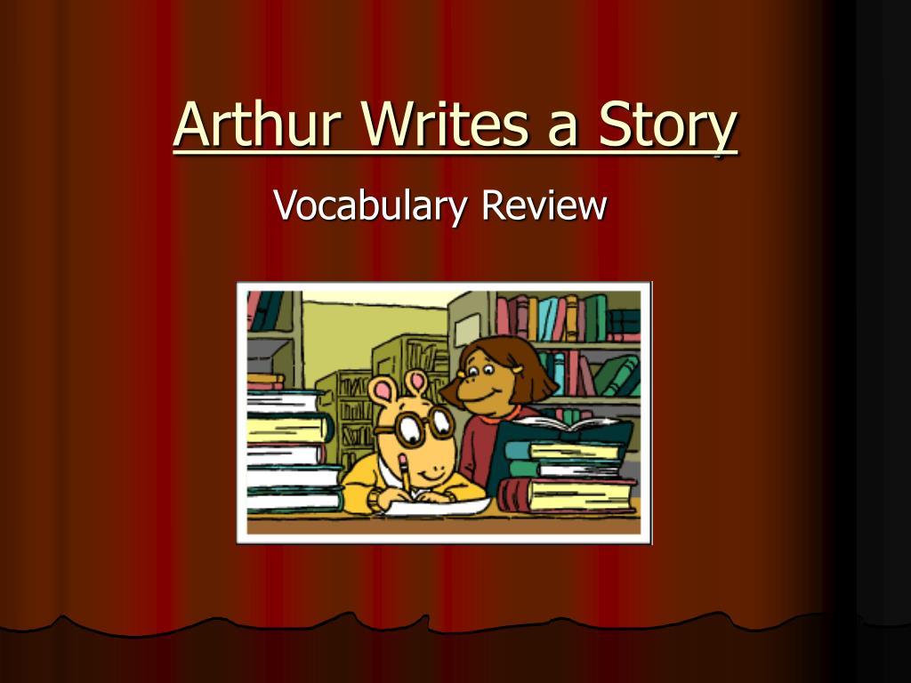 arthur writes a story l.