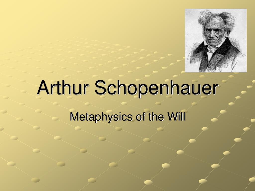 arthur schopenhauer l.
