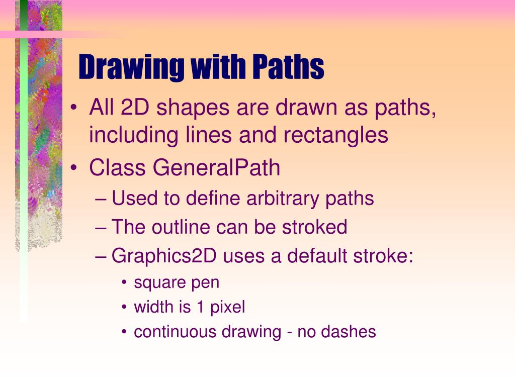 Drawing with Paths