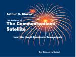 arthur c clarke the godfather of the communications satellite