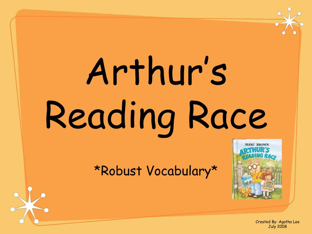 arthur s reading race l.