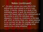 notes continued23