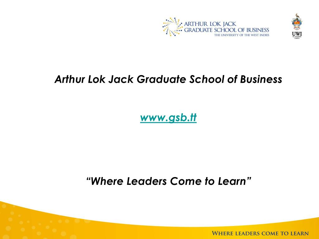 Arthur Lok Jack Graduate School of Business