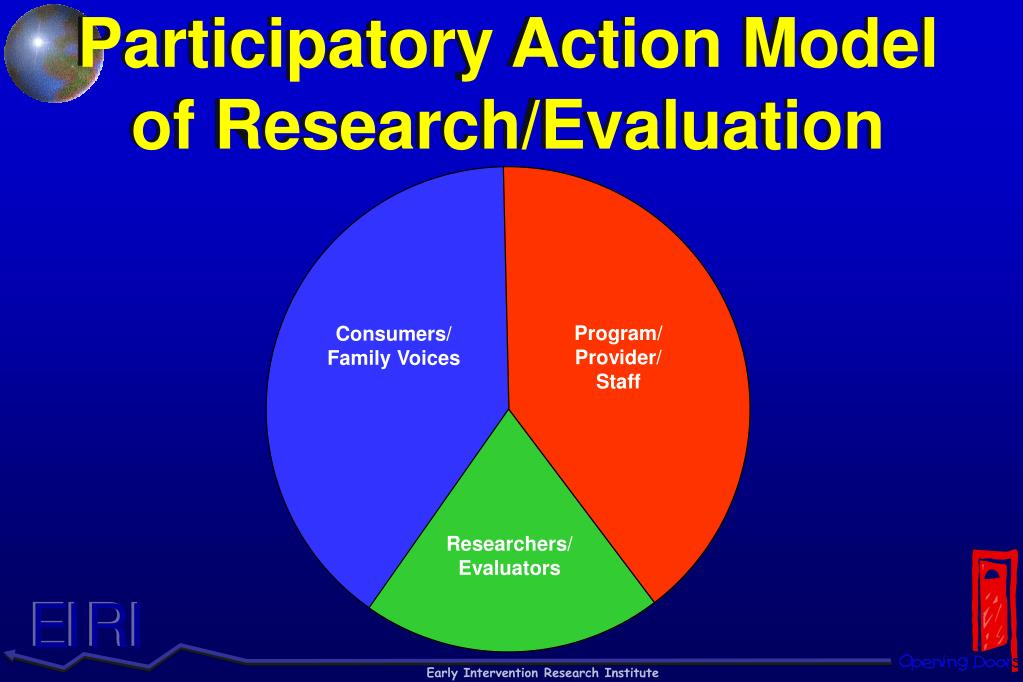 Participatory Action Model of Research/Evaluation