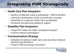 integrating phm strategically