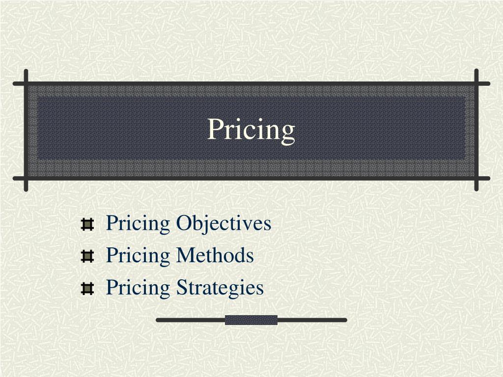 pricing l.