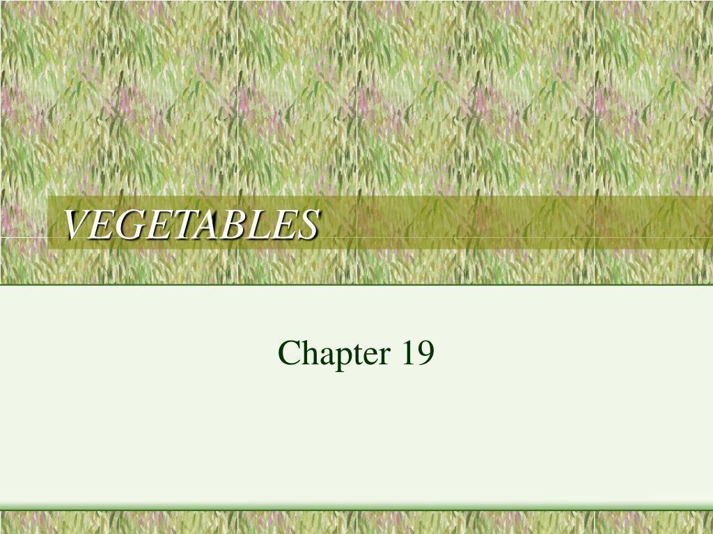 vegetables l.