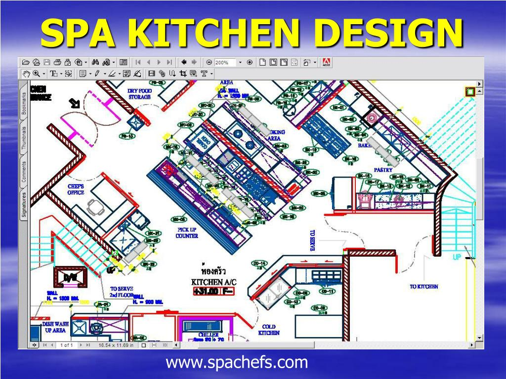 SPA KITCHEN DESIGN