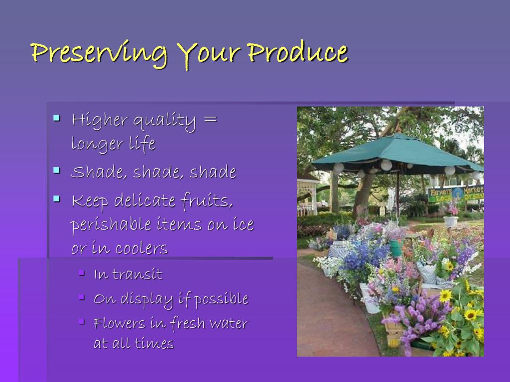 Preserving Your Produce