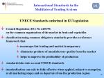 international standards in the multilateral trading system12