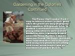 gardening in the colonies continued7