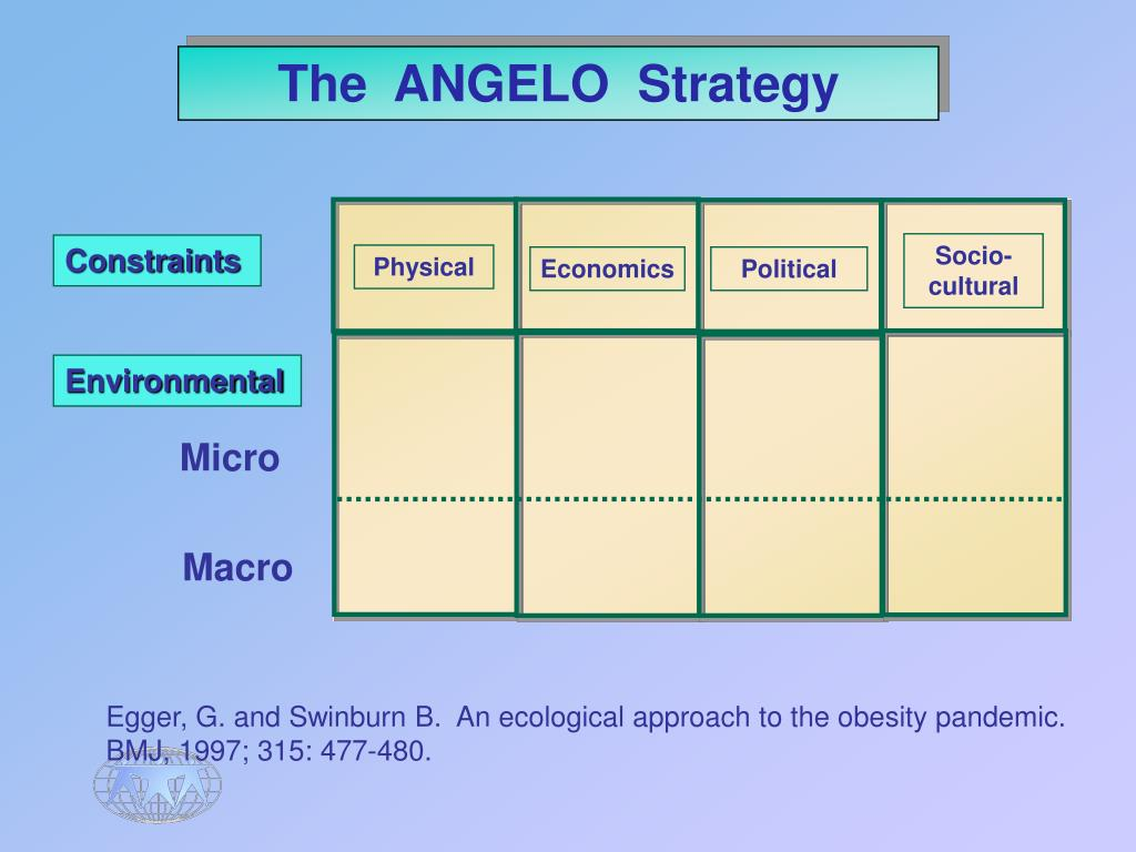 The  ANGELO  Strategy