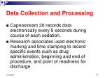 data collection and processing22
