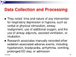 data collection and processing23