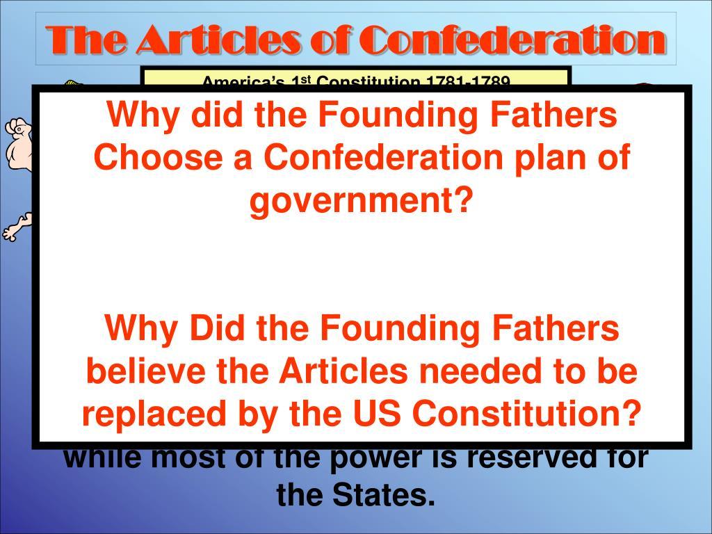 the articles of confederation l.