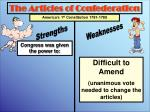 the articles of confederation8
