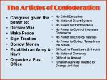 the articles of confederation9