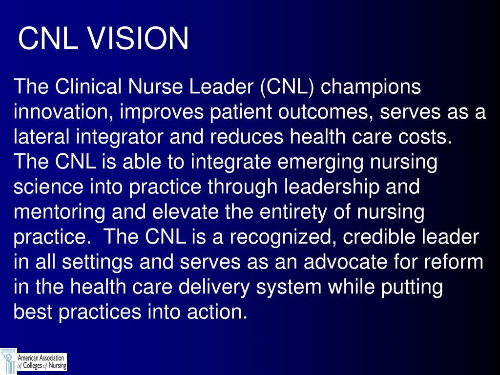 CNL VISION