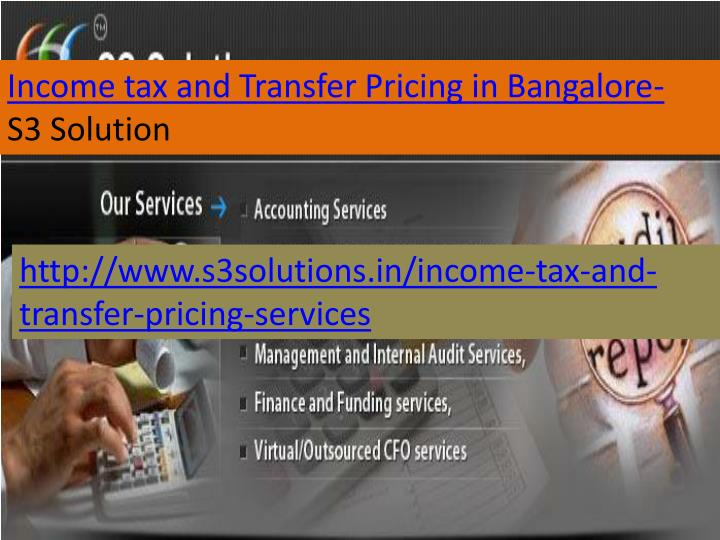 Income tax and Transfer Pricing