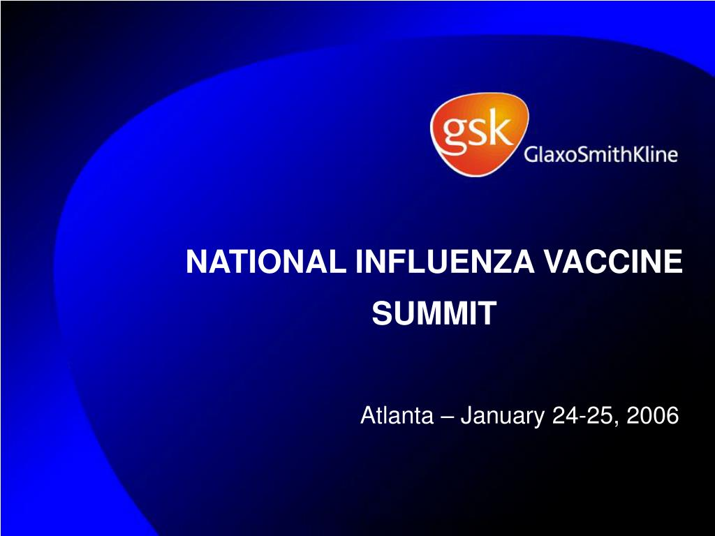 national influenza vaccine summit l.