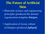 the future of artificial skin