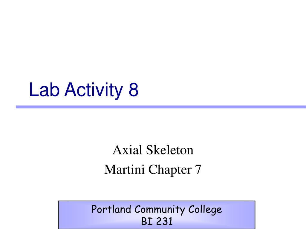 lab activity 8 l.
