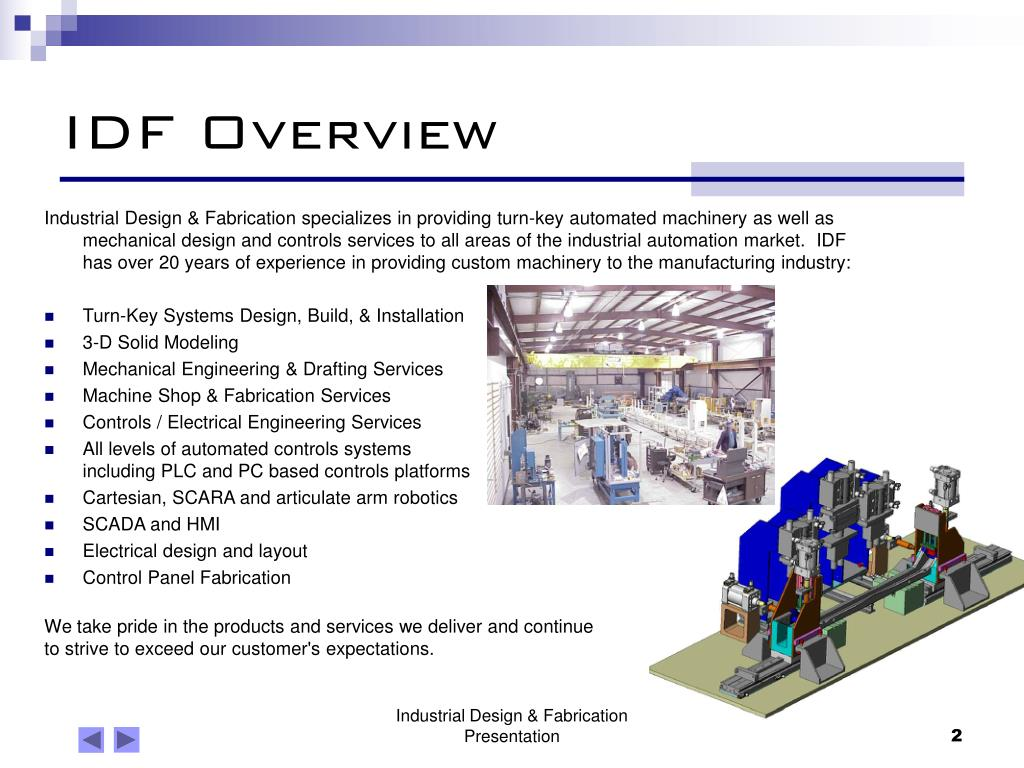 IDF Overview