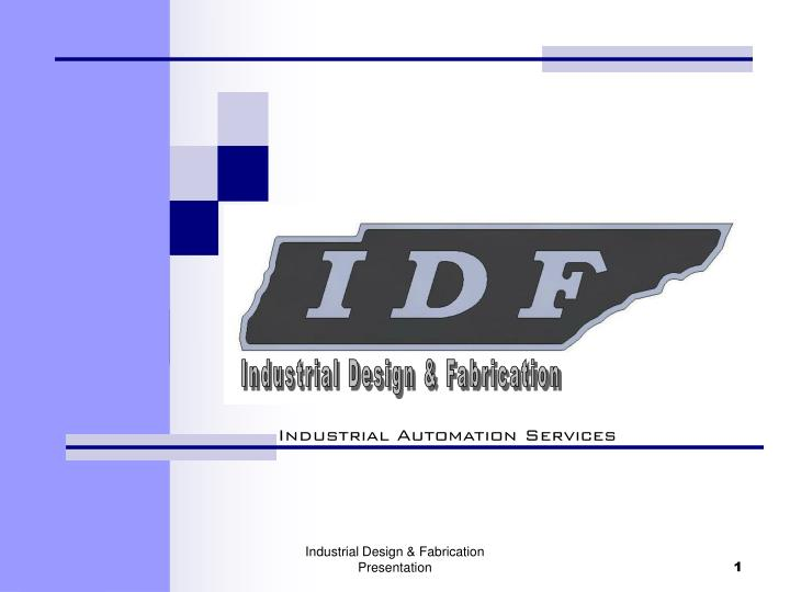 Industrial Design & Fabrication
