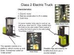 class 2 electric truck