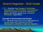 strand integration sixth grade62