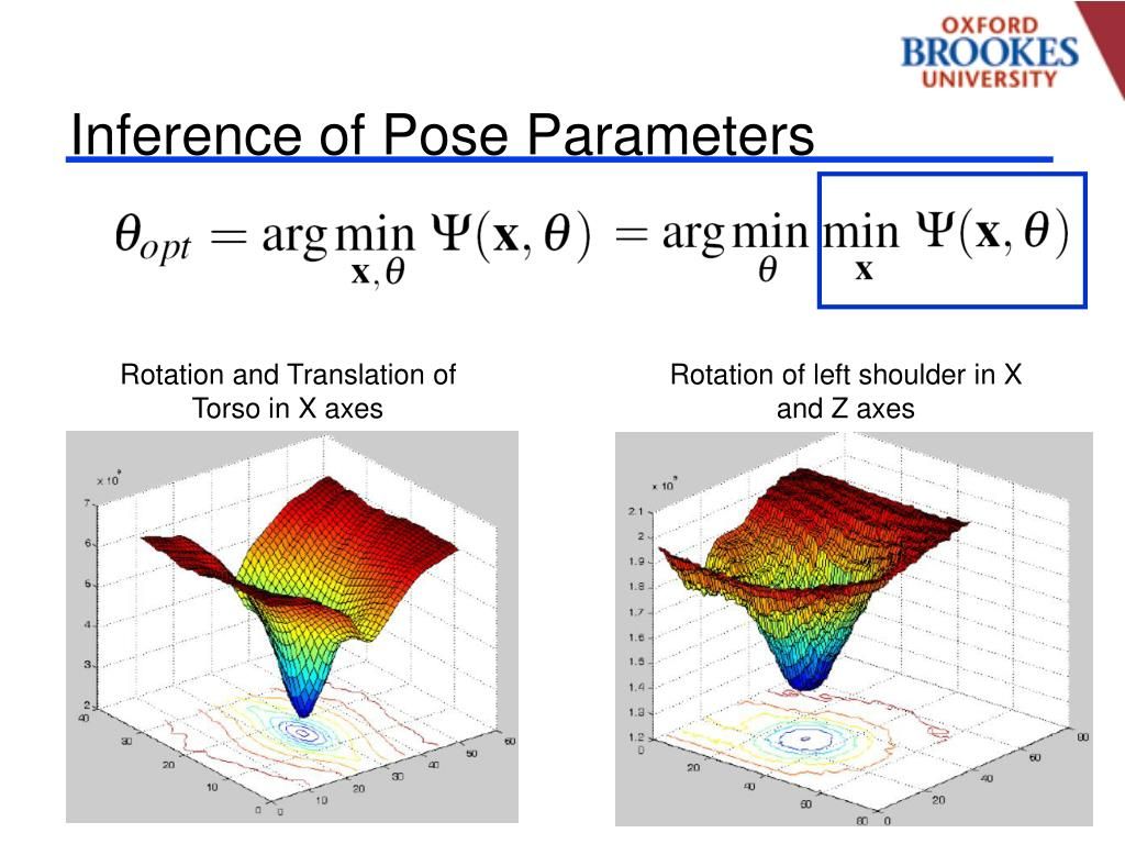 Inference of Pose Parameters