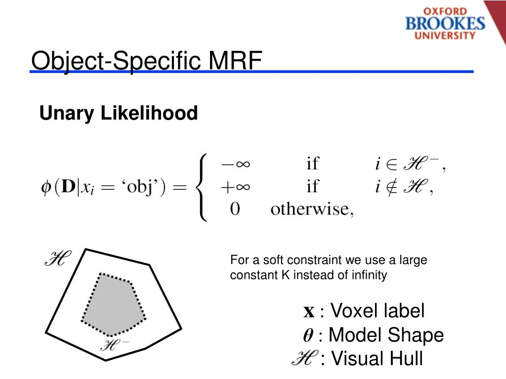 Object-Specific MRF
