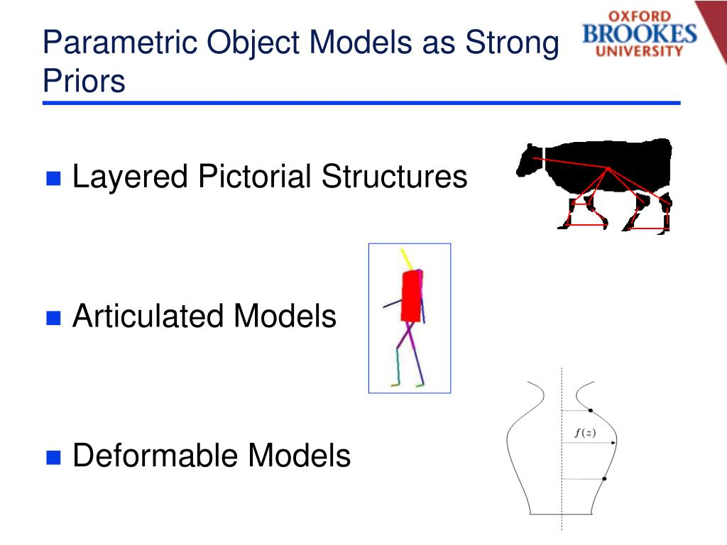 Parametric Object Models as Strong Priors