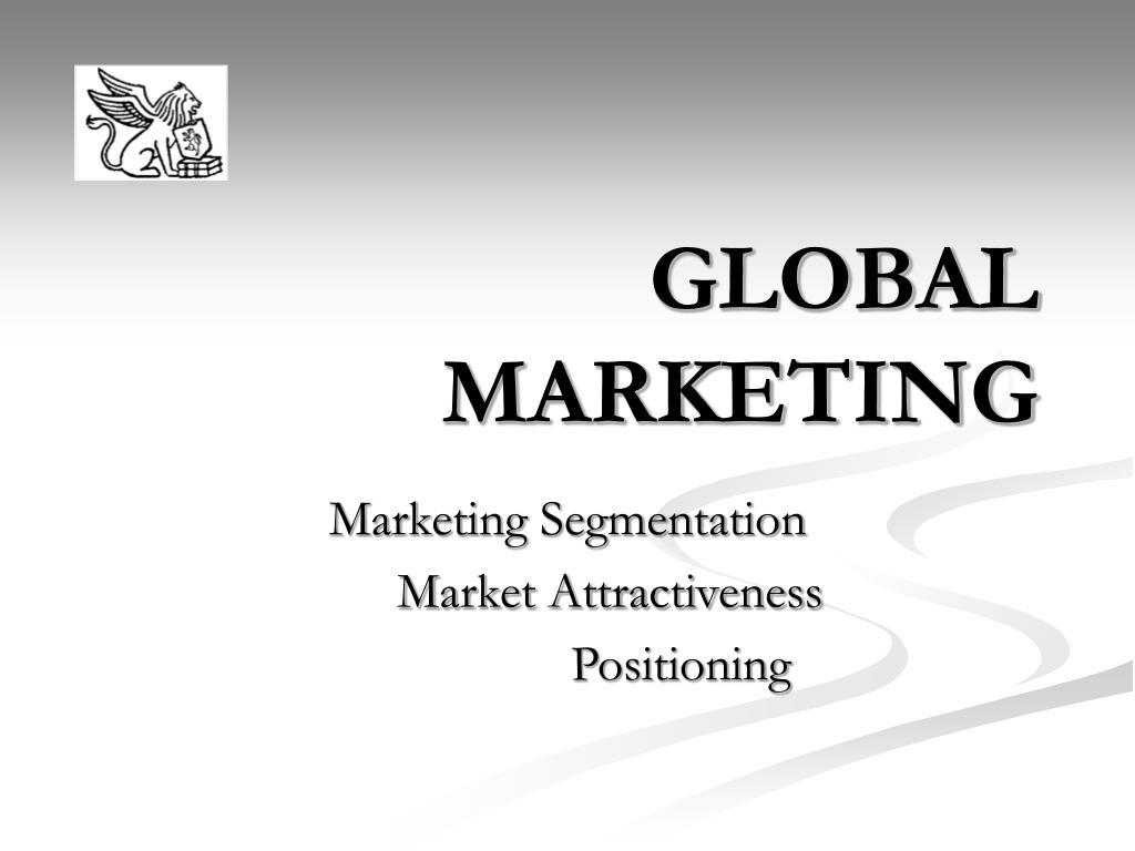 global marketing l.