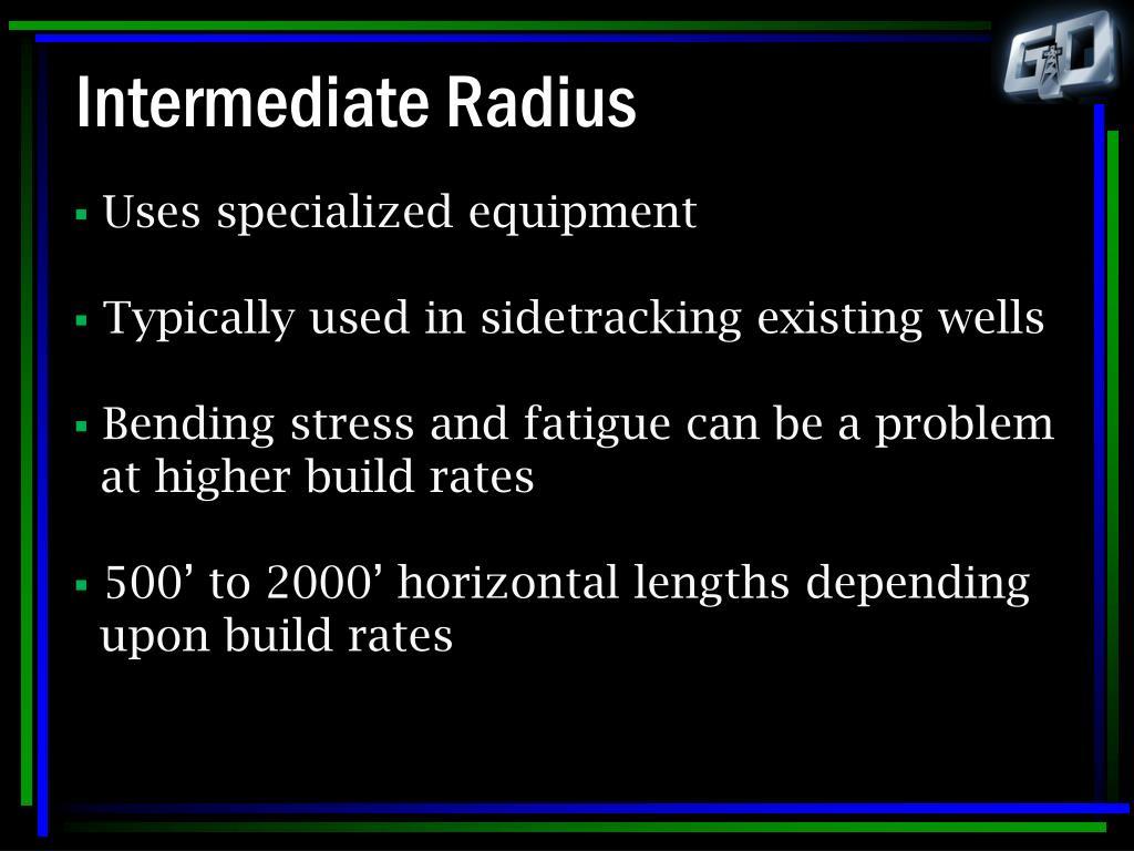 Intermediate Radius