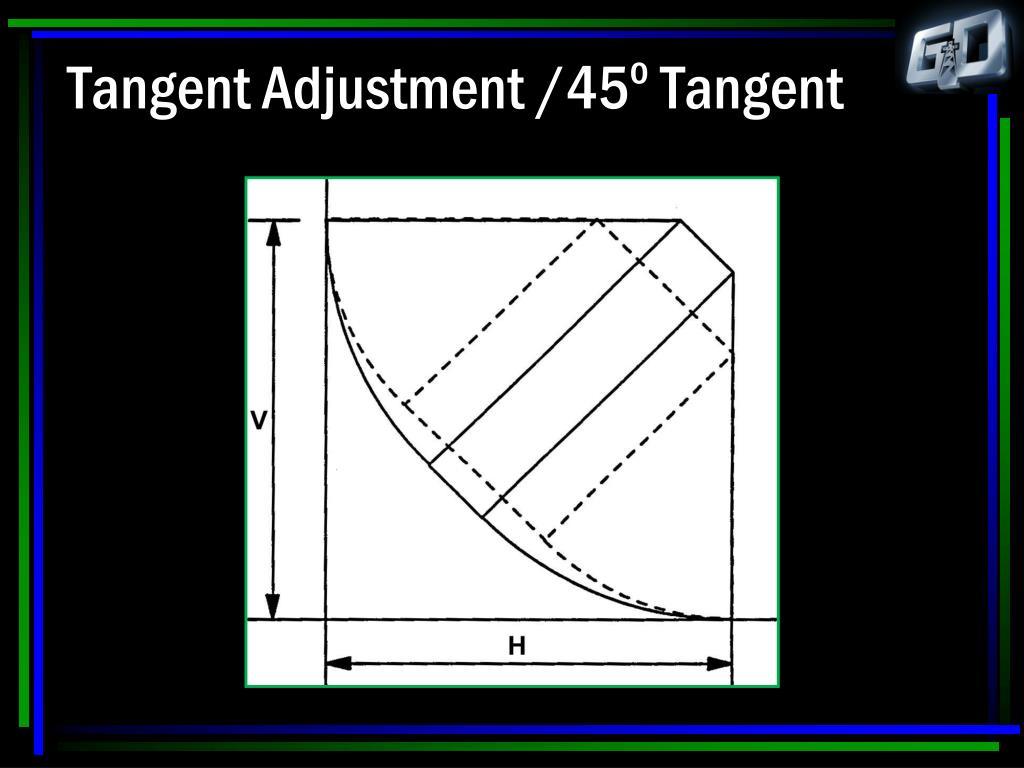 Tangent Adjustment /45