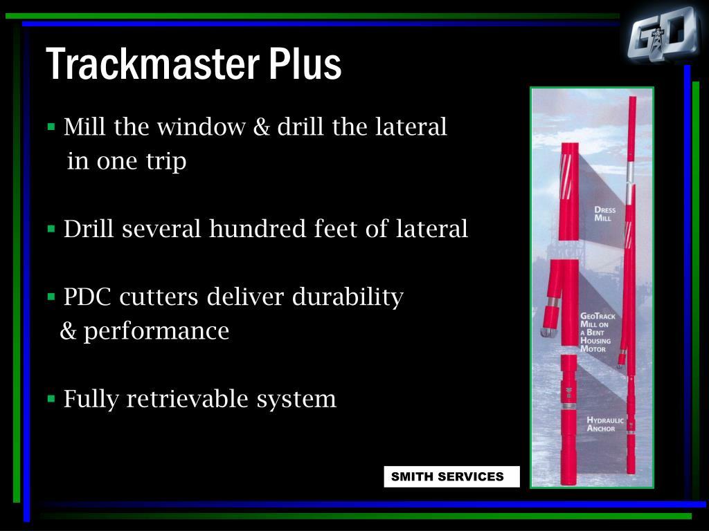 Trackmaster Plus