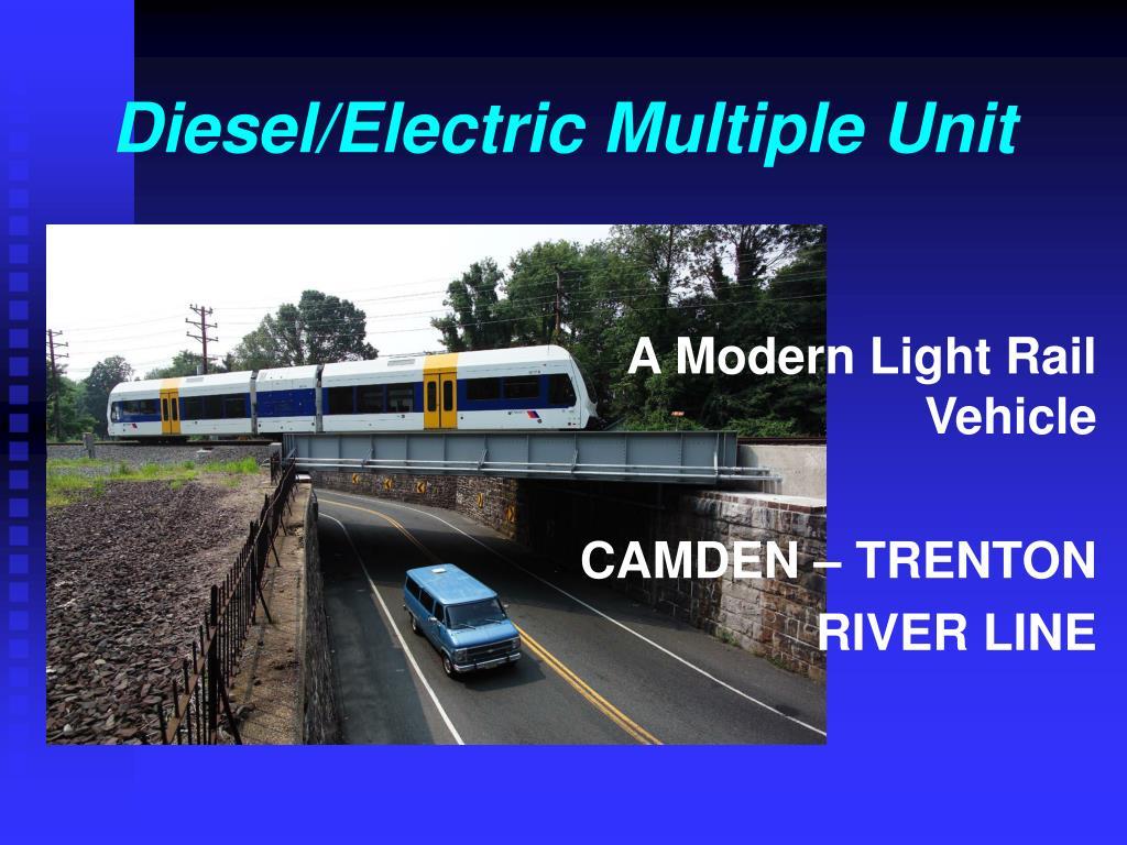 diesel electric multiple unit l.
