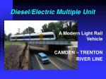 diesel electric multiple unit