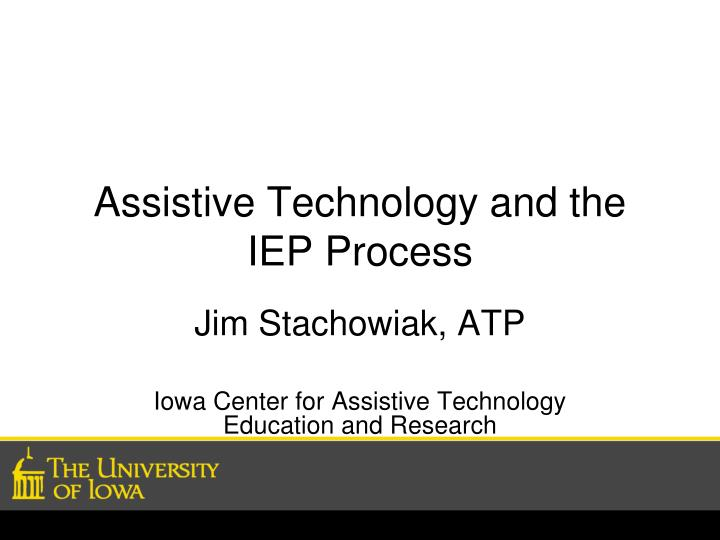 assistive technology and the iep process n.