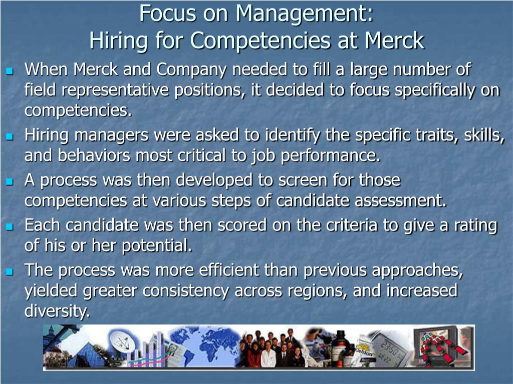Focus on Management: