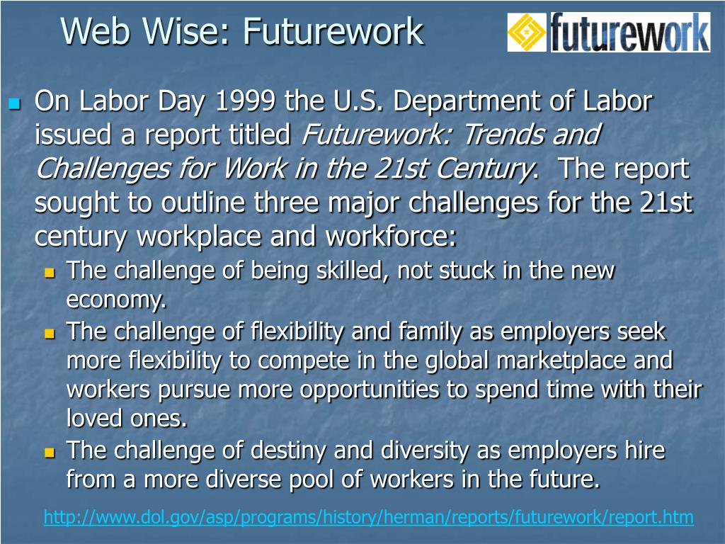 Web Wise: Futurework