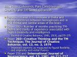 eeg phase coherence pure consciousness creativity and tm sidhi experiences